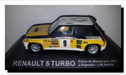 1981 - Renault 5 Turbo N°9