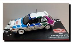 1991 - Mazda 323 GT-X N° 10
