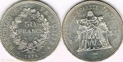 50 FRANCS 1978