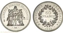 50 FRANCS 1980