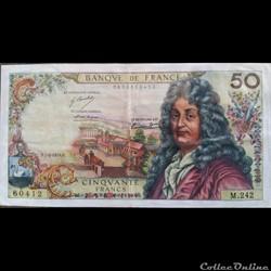 Cinquante Francs 7-2-1974