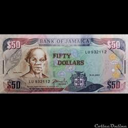 50 Dollars Jamaica