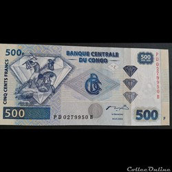 500 Francs 04-01-2002