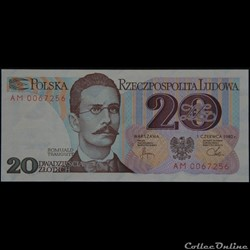 20 Zlotych 1982