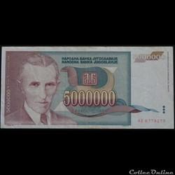 5000000 Dinara 1993