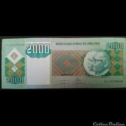2000 Kwanzas 2011