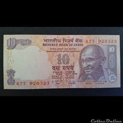 10 Rupees 2010