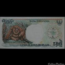 500 Roupies Indonésie 1999