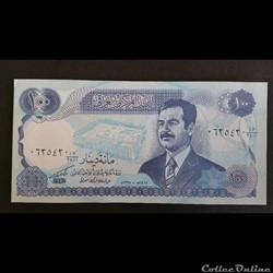 100 Dinars Irakien 1994