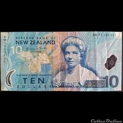 10 Dollars New Zélande