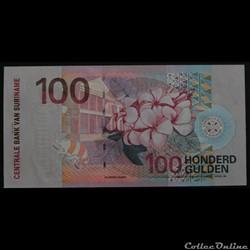 100 Gulden Surinam 2000