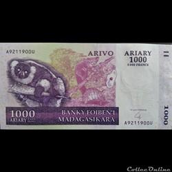1000 Ariary 2004
