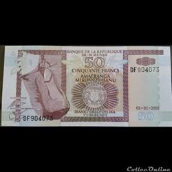 50 Francs 05-02-2005