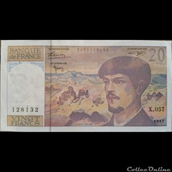 20 Francs 1997 - X. 057