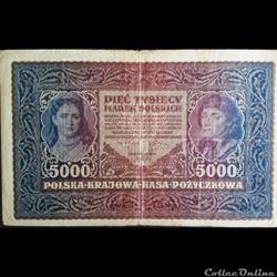 5000 Marek - type Tadeusz Kosciuszko - 1...
