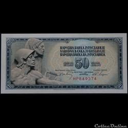 50 Dinara 1968