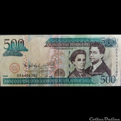 500 pesos 2009