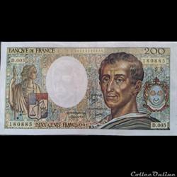 Deux Cents Francs 1981  D.005