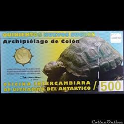 50 Nuevos Sucres Des Galapagos