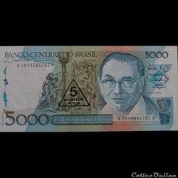 5000 CRUZADOS DE 1989