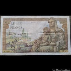Mille Francs 10-12-1942