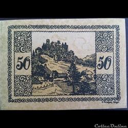 50 Heller dec 1920