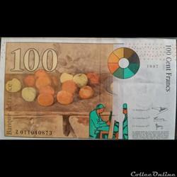 Cent Francs 1997
