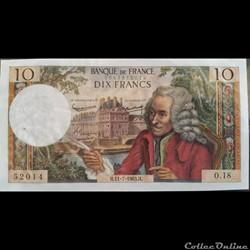 Dix Francs 11-7-1963