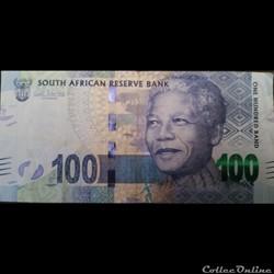 100 Rand ÉMISSIONS DE 2012