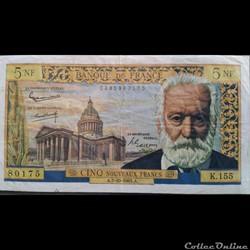 Cinq Nouveau Francs 7-10-1965