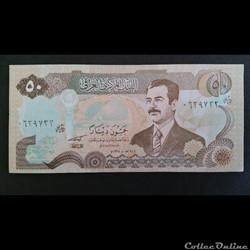 50 Dinars Irakien 1994