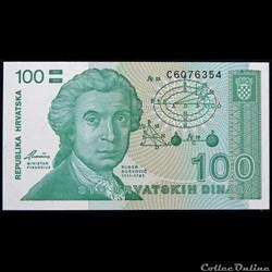 100 DINAR DE 1991
