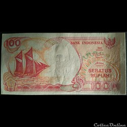 100 RUPIAH DE 1992