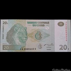 20 Francs 30-06-2003