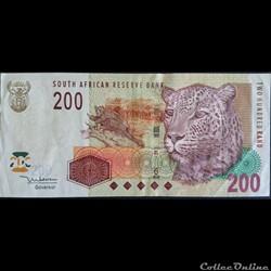 200 Rands ÉMISSIONS DE 2005
