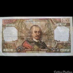 Cent Francs 4-3-1976