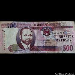 500 Méticals 2006