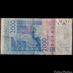 2000 Francs CFA 2003
