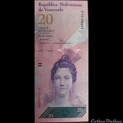 20 Bolivars 2007