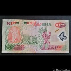 billet europe autriche 1000 kwacha 2003