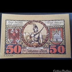 50 Heller31-03-1921