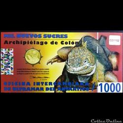 100 Nuevos Sucres Des Galapagos