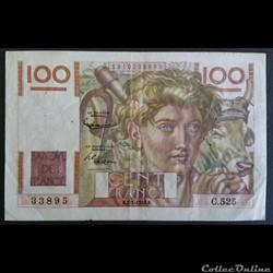 100 Francs 02-01-1953
