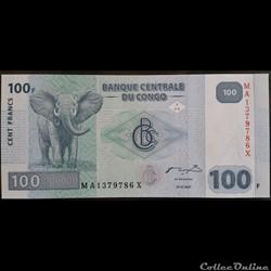 100 Francs 31-01-2007