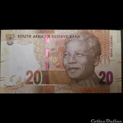 20 Rand ÉMISSIONS DE 2012