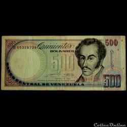 500 Bolivars 1989