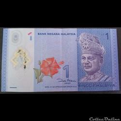 1 Ringgit Malaisien 2011