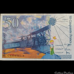 Cinquante Francs 1997