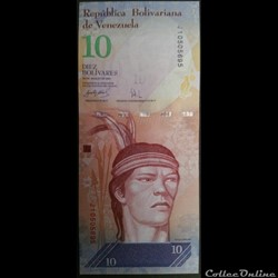 10 Bolivars 2007