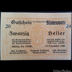 20 Heller 10-09-1920